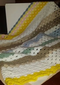 Day at the Beach baby afghan